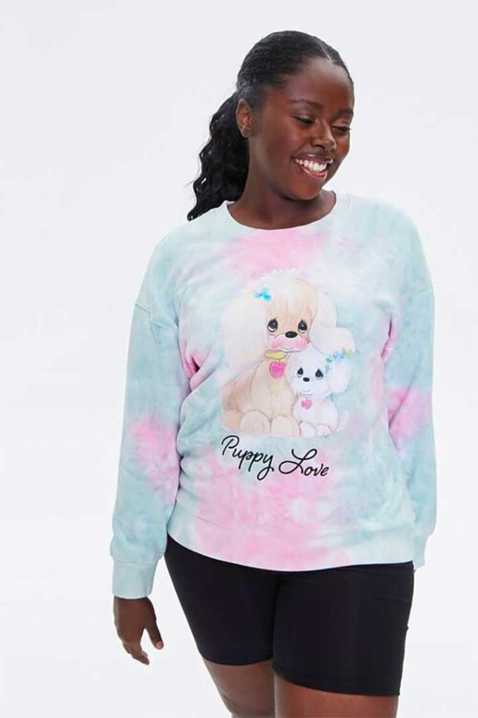 Forever 21 Puppies Love Me Sweatshirt