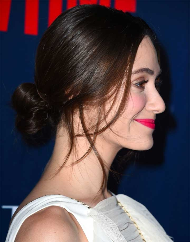 Forget About Your Top Knot And Try A Low Bun