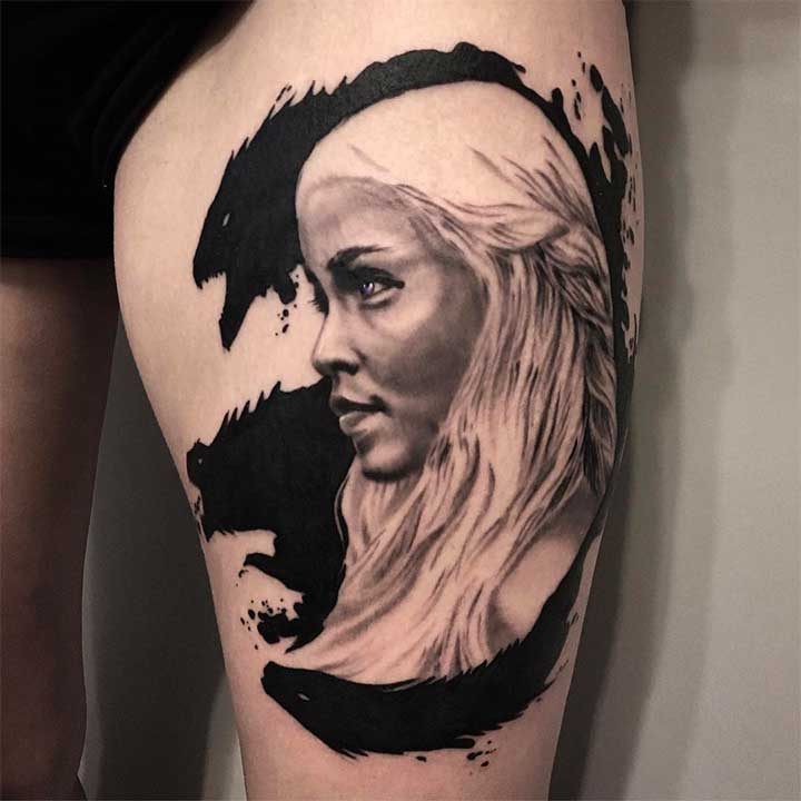 Game Of Thrones Tattoos To Prep For GOT's