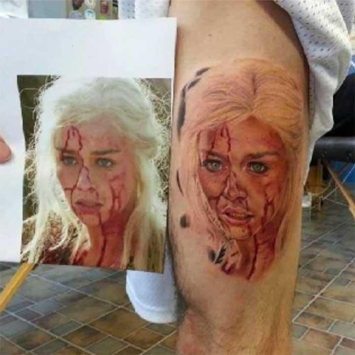 Game of Thrones tattoo Daenarys
