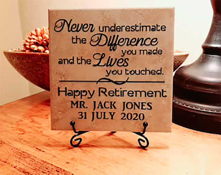 Gifts to Give for the Best Retirement Wishes