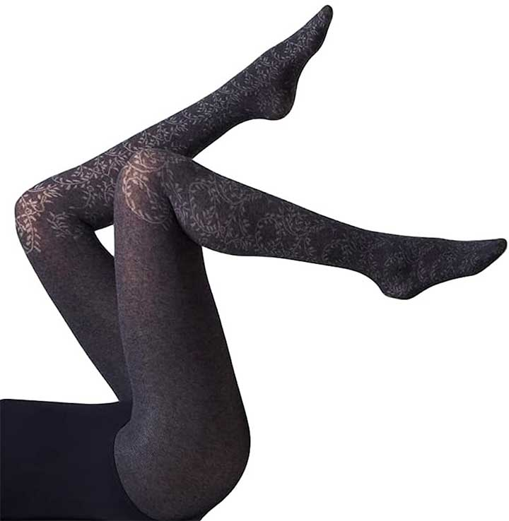 Gipsy Cotton Ivy Over The Knee Tights