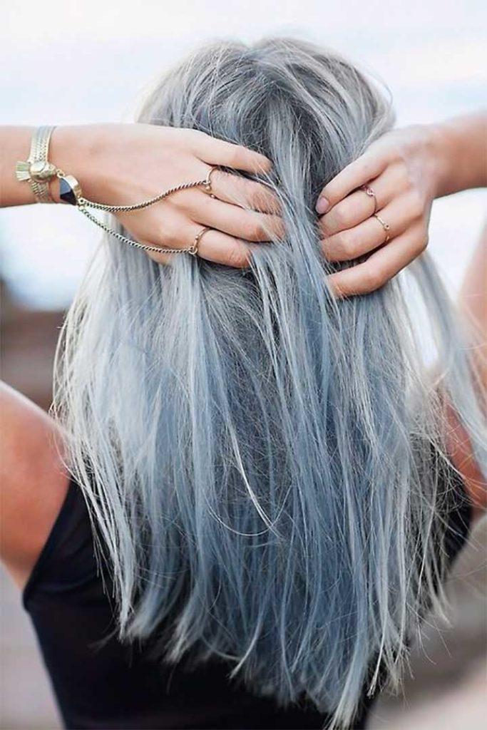 Gray Blue Hair Ideas