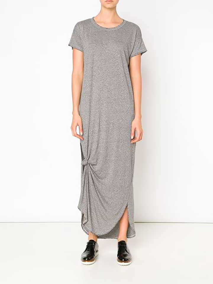 The Great Knot Detail T-shirt Dress, FarFetch