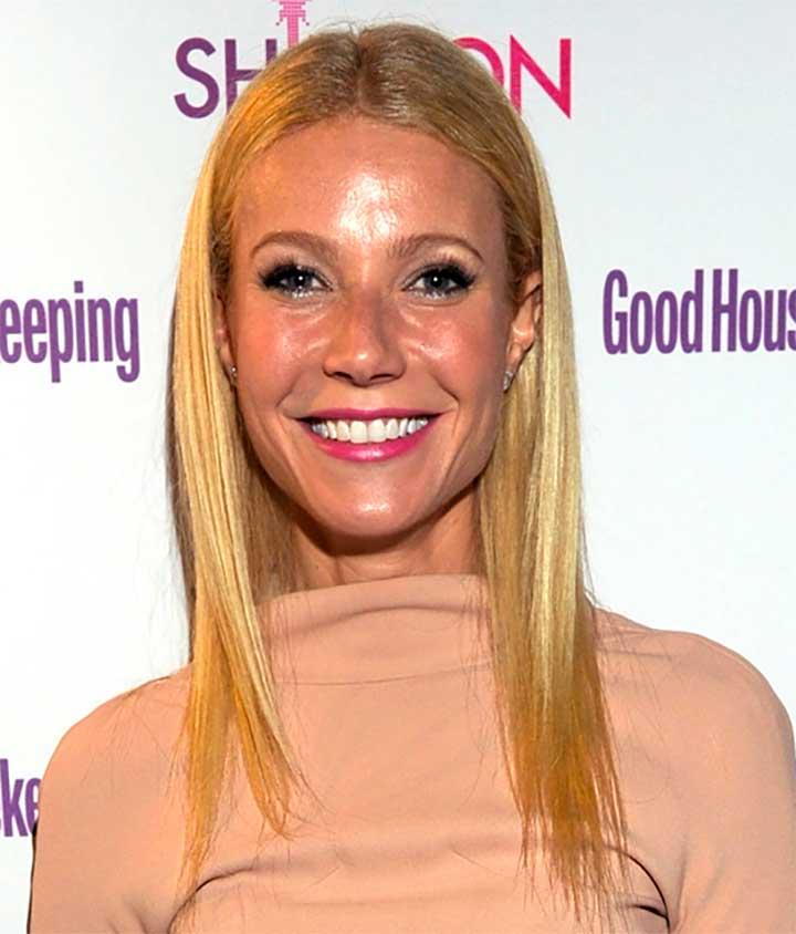 Gwyneth Paltrow Shiny Face