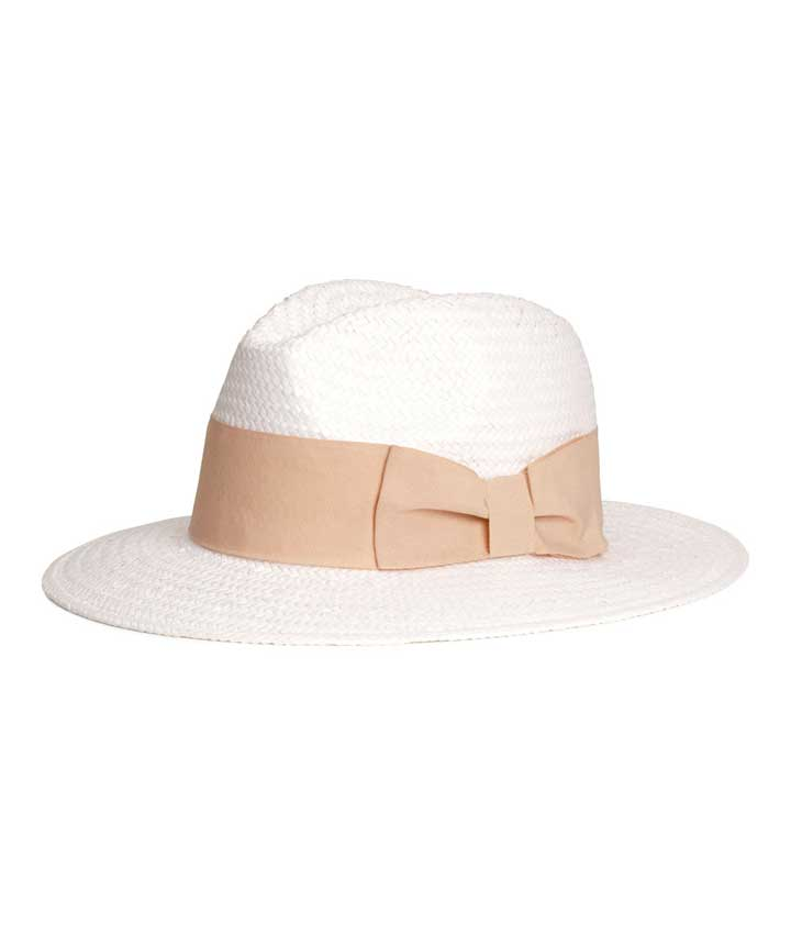 13 Summer Hats That Aren't Just For The Beach: H&M Straw Hat