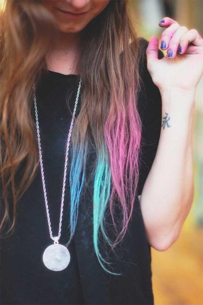Hair Chalk Pastel Ends