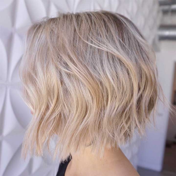 Hairstyles For When Summer Frizz: A Bob/Lob