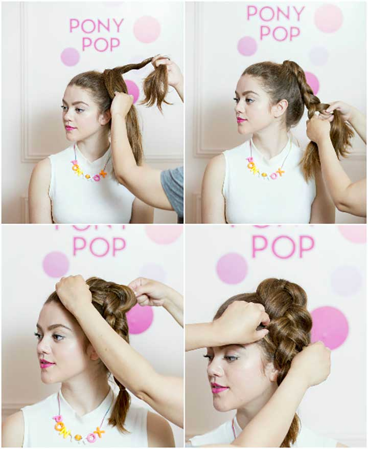 How To Get high ponytail