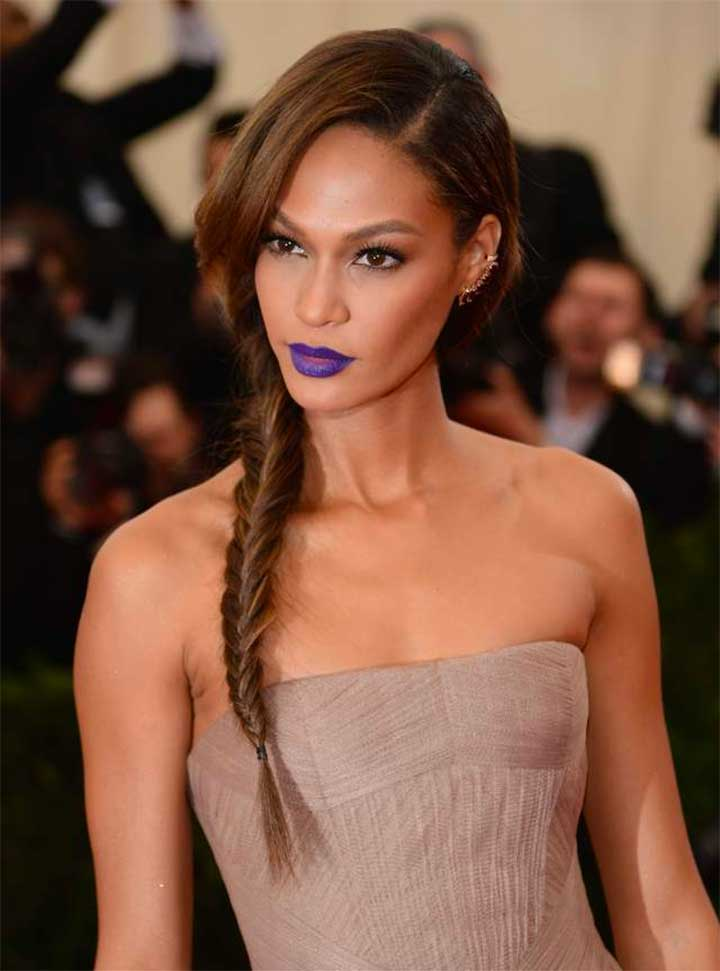 How To Make The Blue Lipstick Trend Work For You