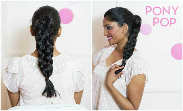 How do you do a double braid for beginners