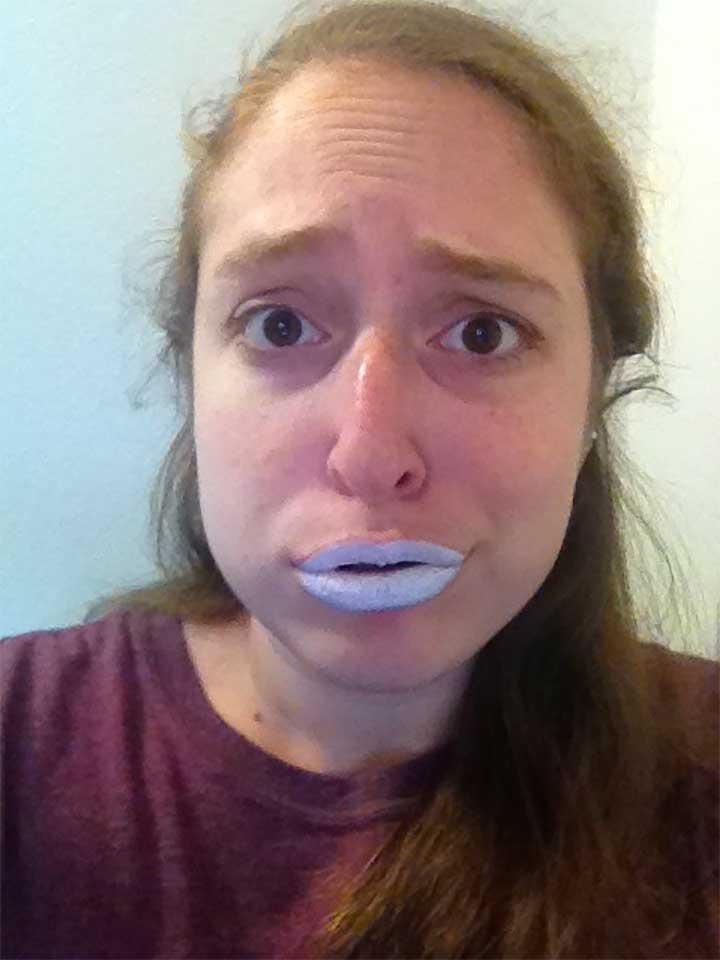 Is white lipstick popular?