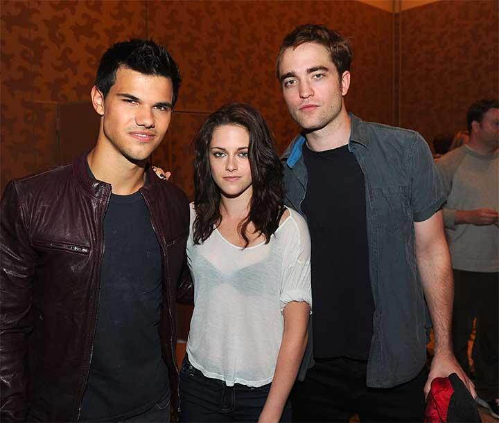 Kristen Stewart, Robert Pattinson, Taylor Lautner Comic Con