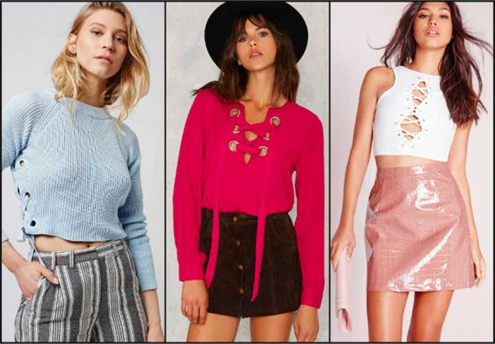11 Lace-Up Tops That You Can Wear With Everything