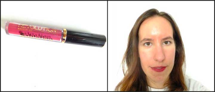 Lipstick Test Makeup Revolution