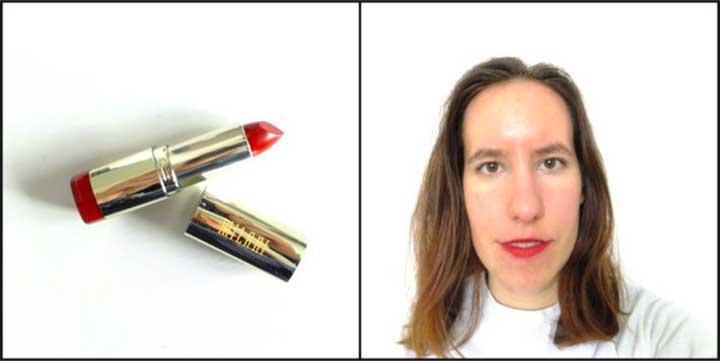 Color Statement Moisture Matte Lipstick in 67 Matte Confident: Lipstick Test Milani