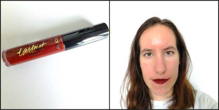 Lipstick Test Tarte