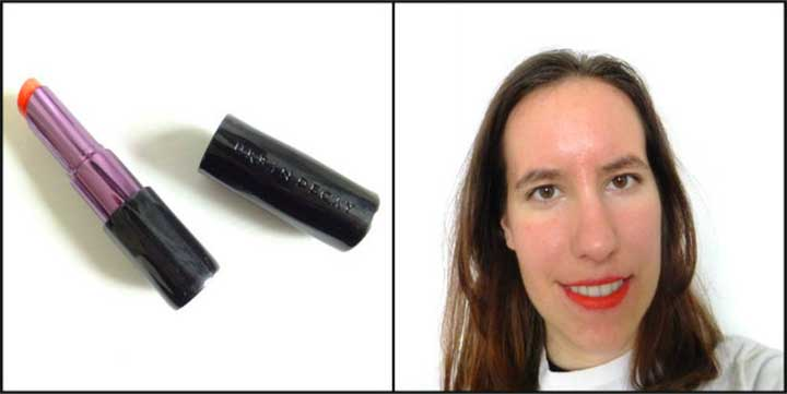 Lipstick Test Urban Decay
