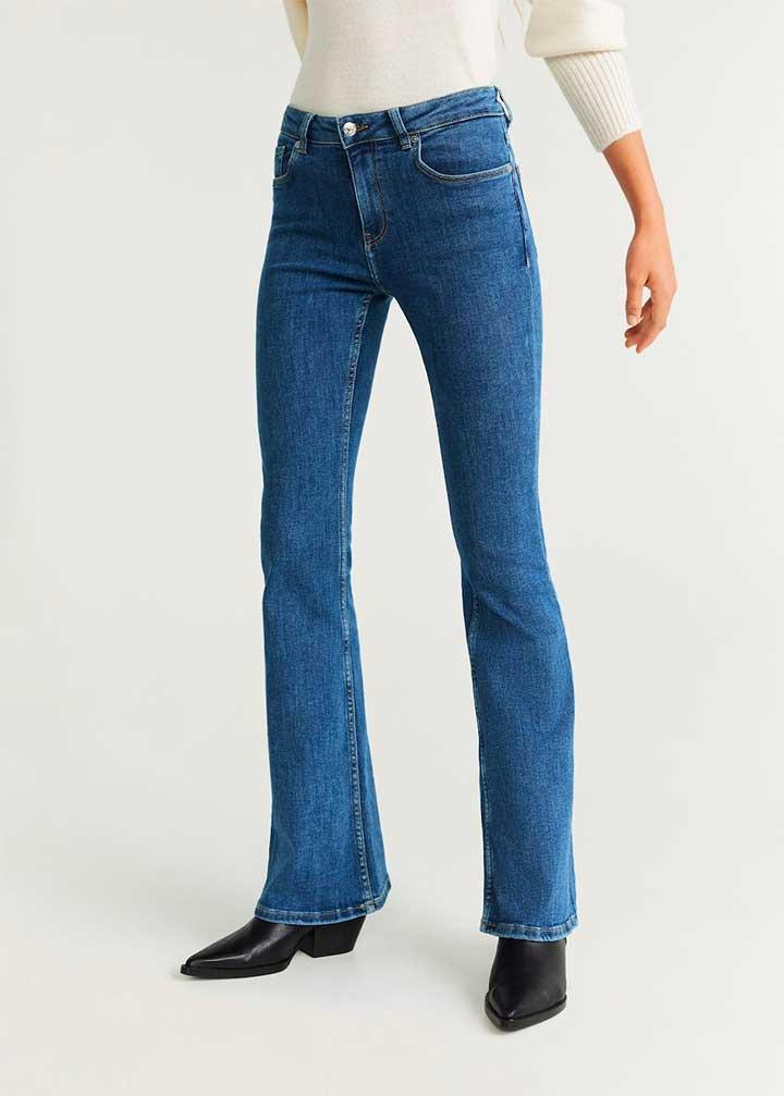 Mango Flared Flare Jeans
