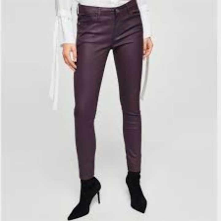 Mango Skinny Belle Jeans Plum