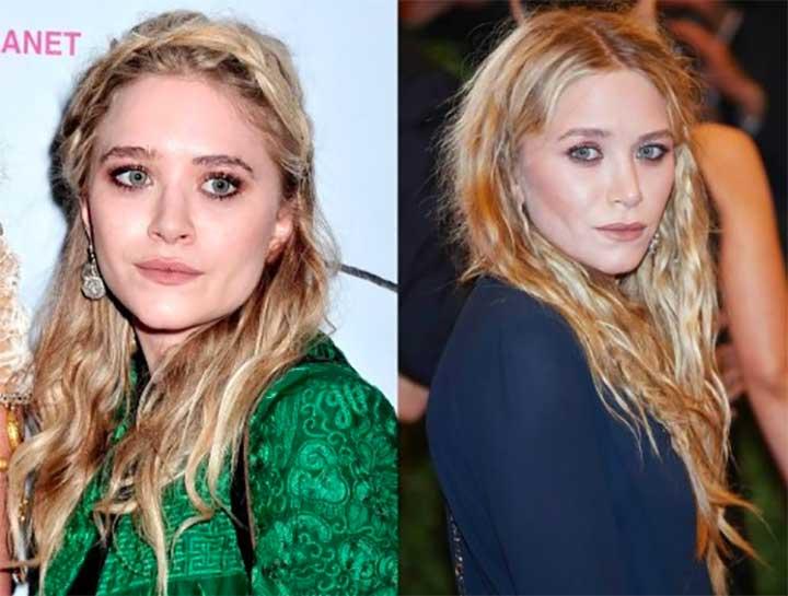 Mary-Kate Olsen Bushy Eyebrows