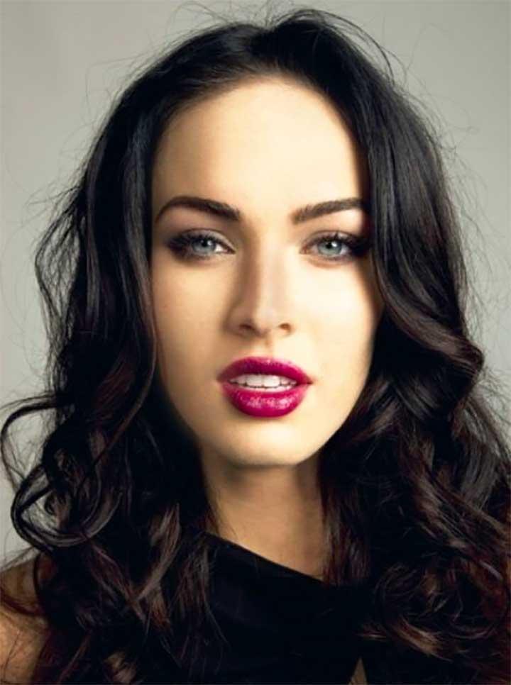 Megan Fox Berry Lipstick