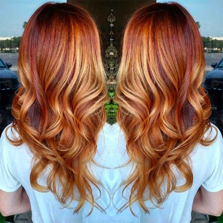 Discover Metallic Copper Hair Color Trend in All Shades