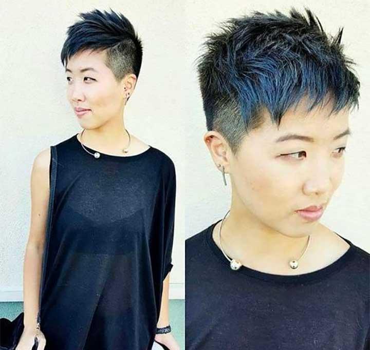 Dyeing My Hair Metallic Navy Blue