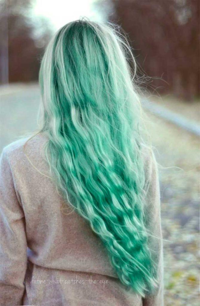 Mint Hair Color