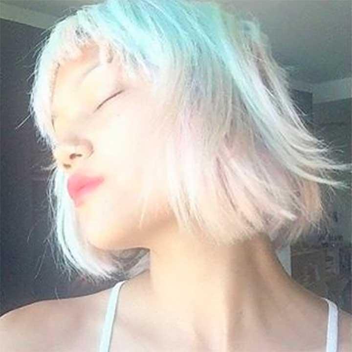 Mixed-Metallics Opal Hair