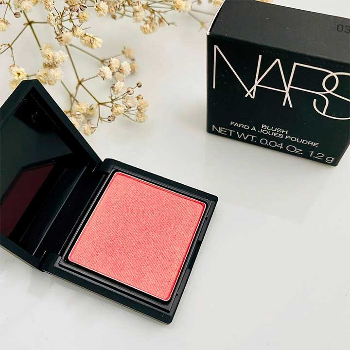 Nars blush and package