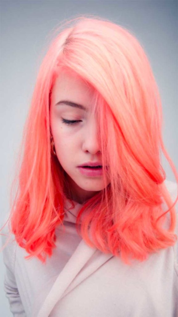 Dying My Hair Neon Coral