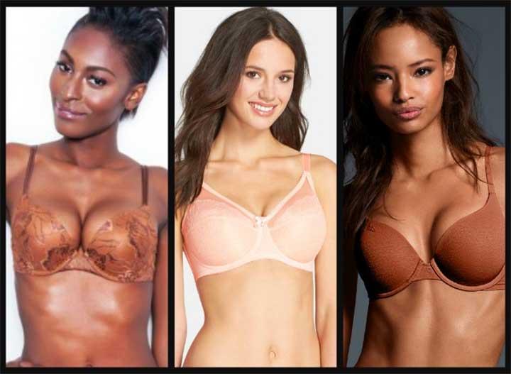 Nude Bras All Skin Tones