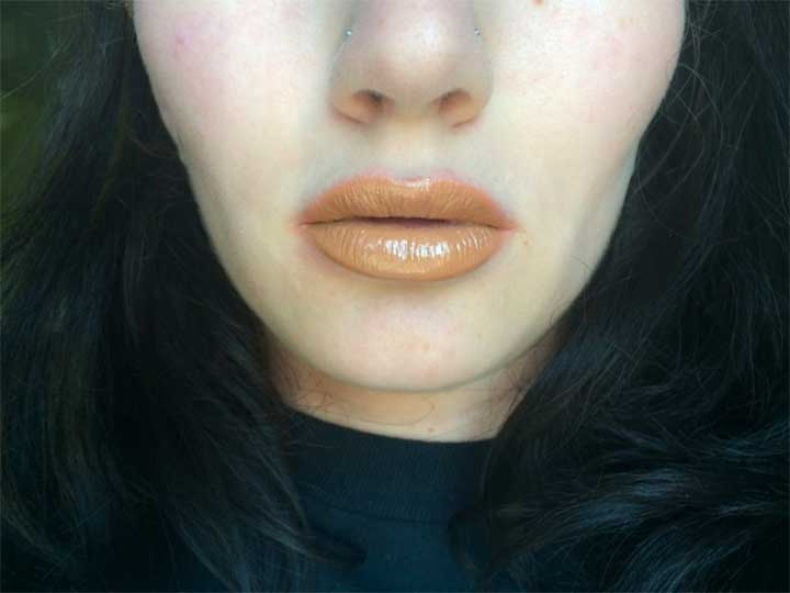 OCC Lip Tar Unknown Pleasures review - Covet swatch