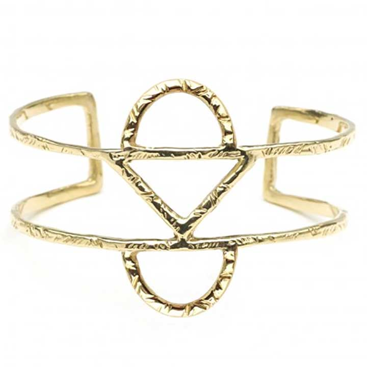 Geometric Jewelry: Odette NY Crescent Cuff