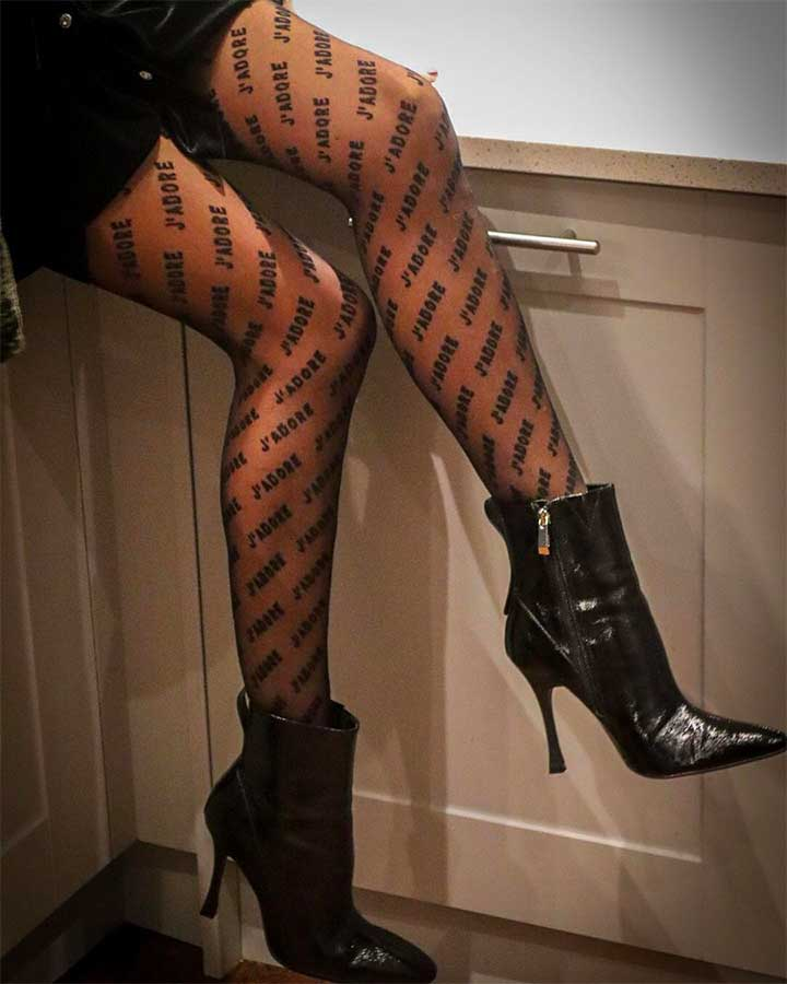 14 Pairs Of Patterned Tights You Can Wear All Fall Long