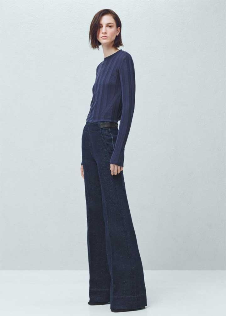 Premium Flare Denim Trousers