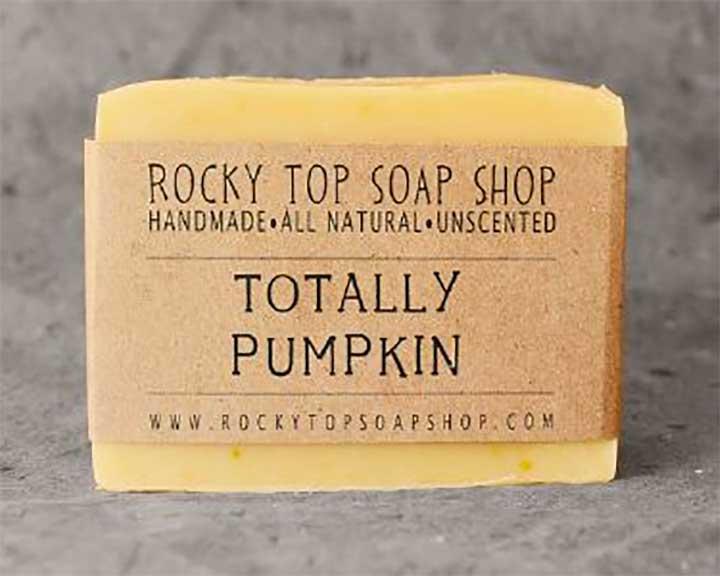 Rocky Top Soap Shop Totally Pumpkin Soap
