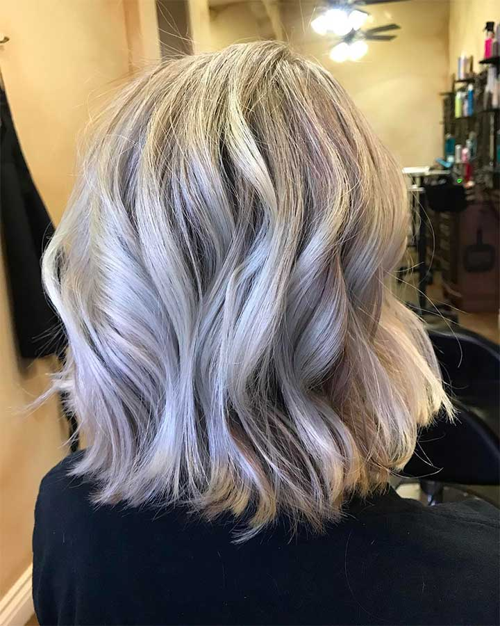 The Snowlights Hair Color Trend Is the Perfect Winter Dye Job