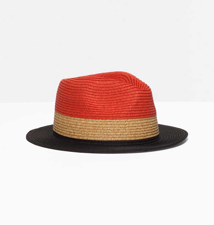 Stories Colored Straw Hat