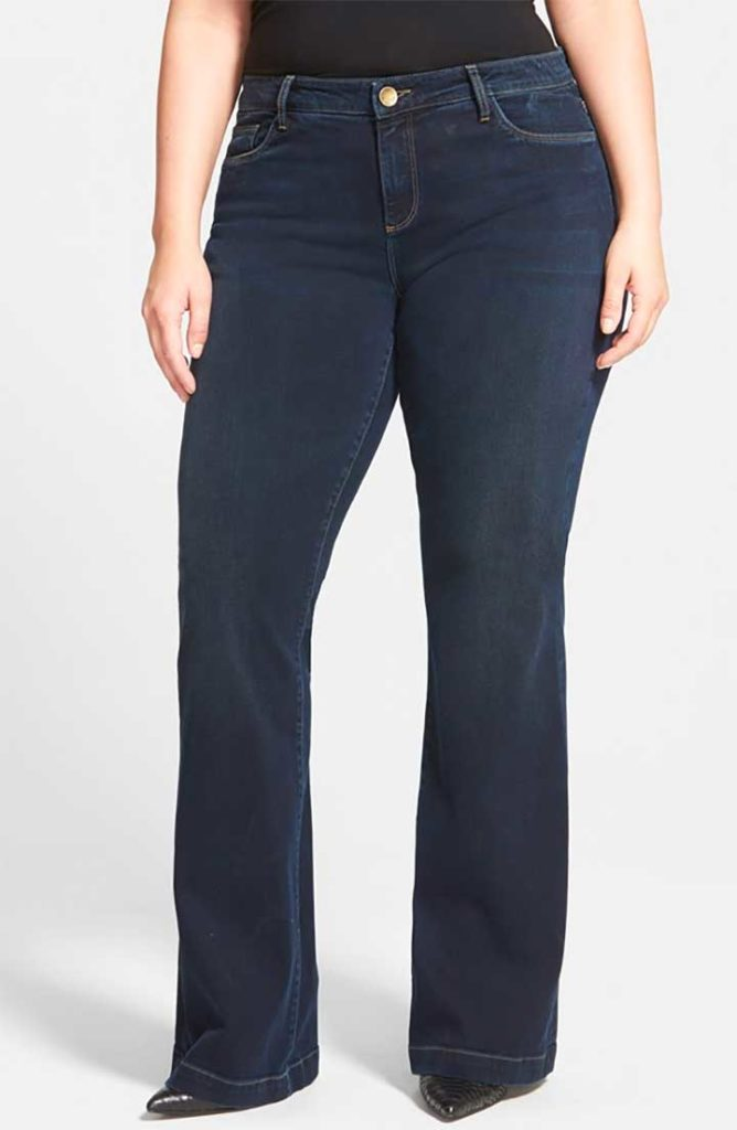 KUT from the Kloth 'Chrissy' Stretch Flare Leg Jeans