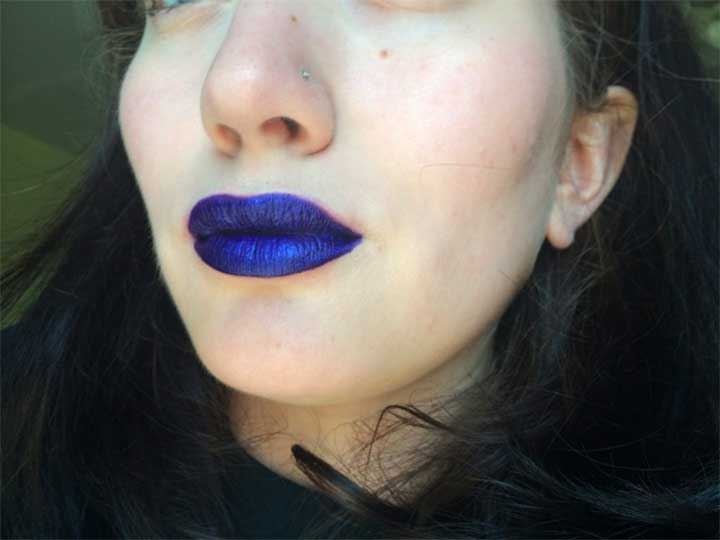Controversial Cult Favorite: Obsessive Compulsive Cosmetics Lip Tar - Technopagan Swatch