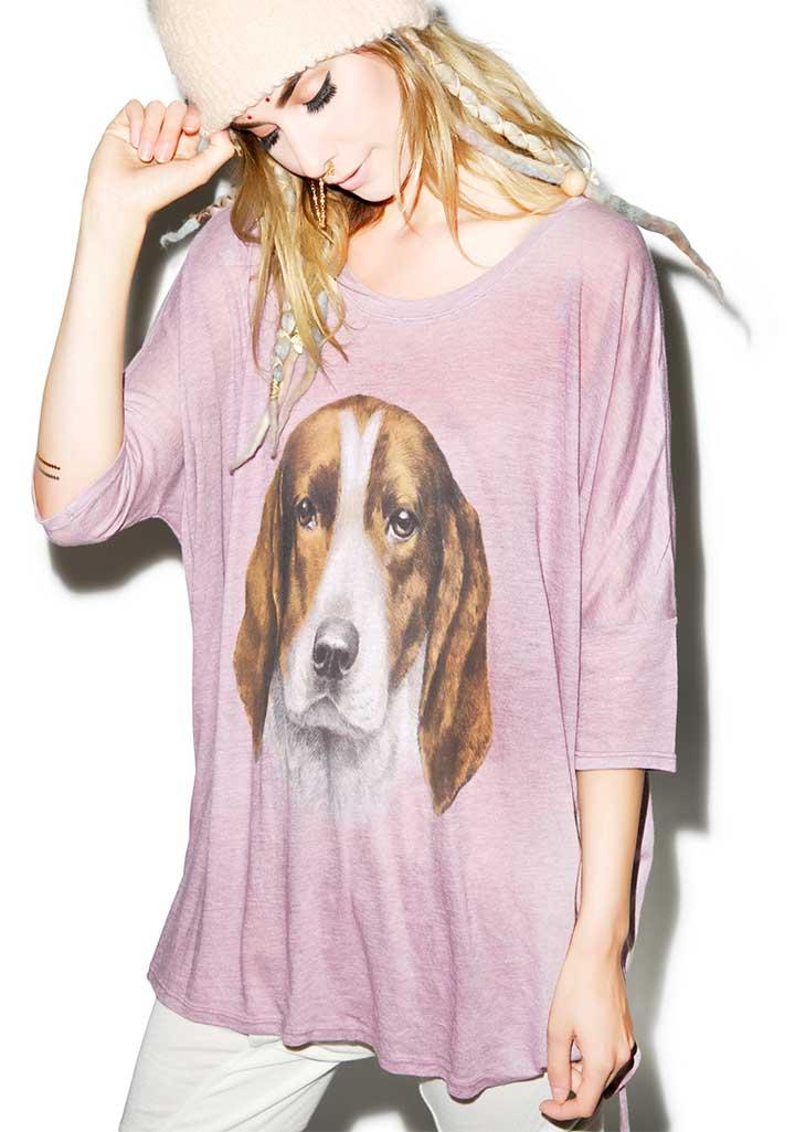 Wildfox The Hound Shirt