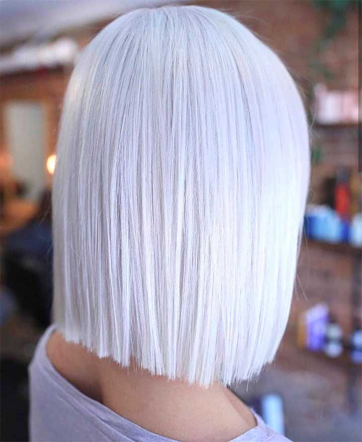 Forget About Gray, These Looks Will Make You Want To Dye Your Hair White