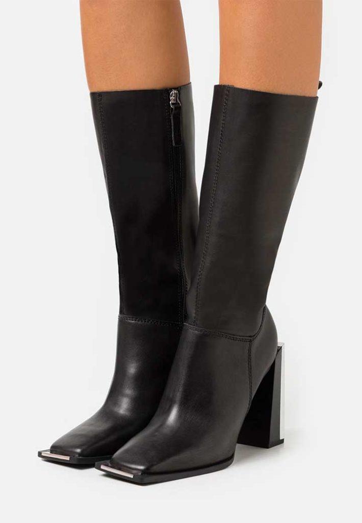 Topshop Deal Buckle Boots