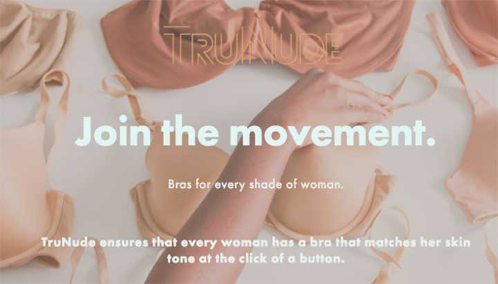 TruNude company is making nude bras for people of all skin tones