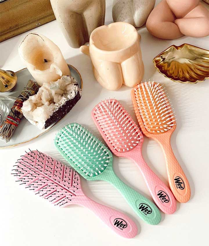What is the difference between a Wet Brush and a regular brush?