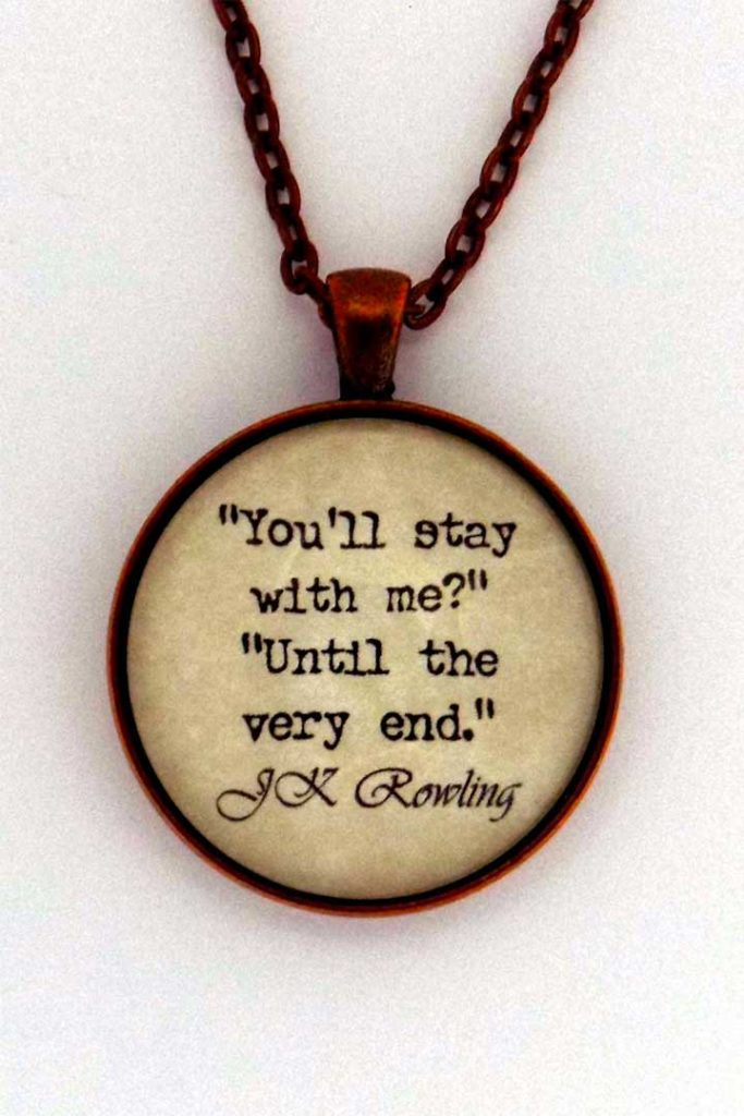 Harry Potter You'll Stay With Me Necklace