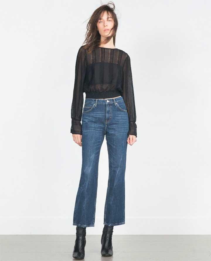 Non-Skinny Jeans Shopping Guide: Zara Denim Jeans