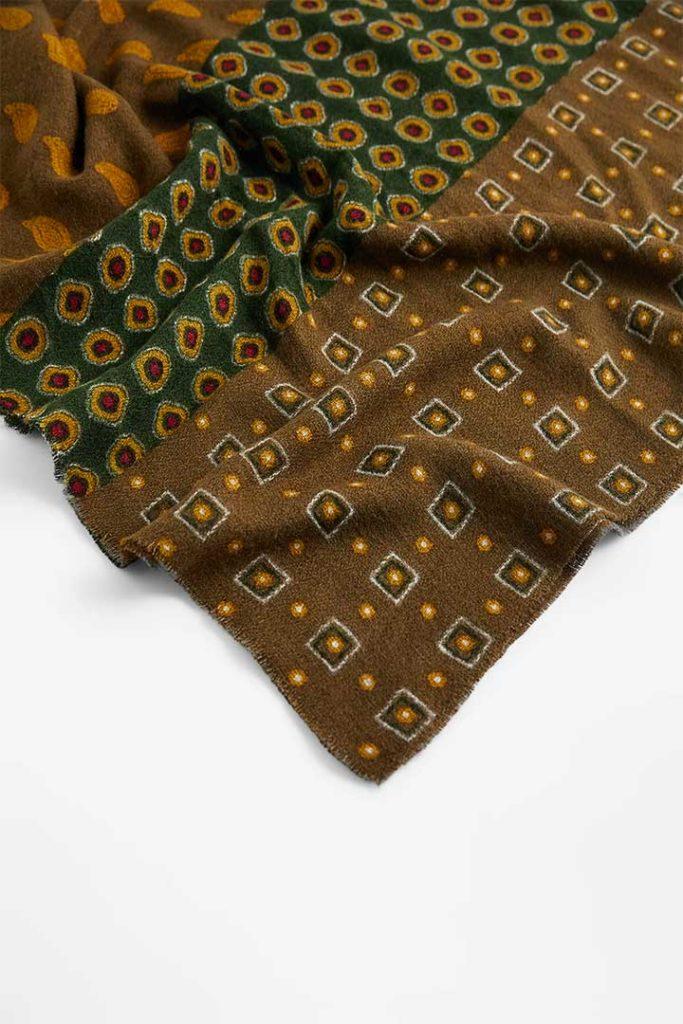 Zara Geometric Print Scarf